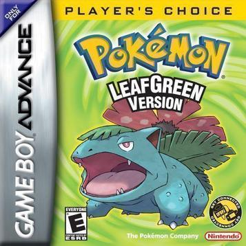 Pokemon leaf green (u)(independent) rom < gba roms | emuparadise.