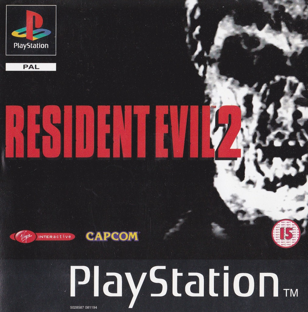 Resident Evil 2 Disc 2 Claire Sles 10972 Rom Psx Game