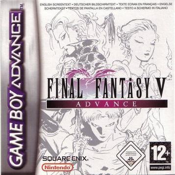 Final Fantasy V Advance Rom Gba Game Download Roms